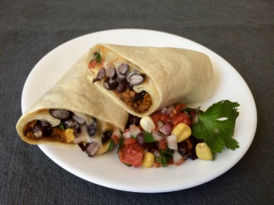 ROASTED YAM BURRITOS