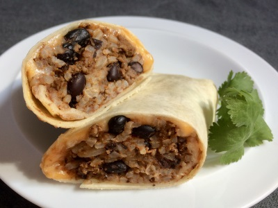 BEEF, BEAN, AND CHEESE BURRITOS